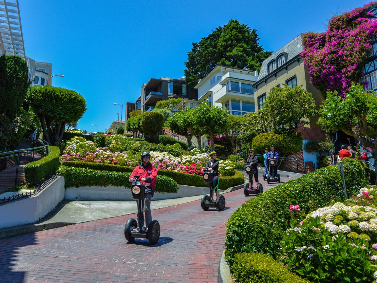 Small Group: Private Segway Tour:  Wharf & Hills of San Francisco