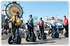 757 Private LargeGroup Mini Segway Tour:  1.5 Hours