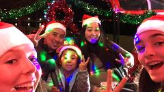 Private Charter Holiday Lights and Sites Lucky Tuk Tuk San Francisco Tour