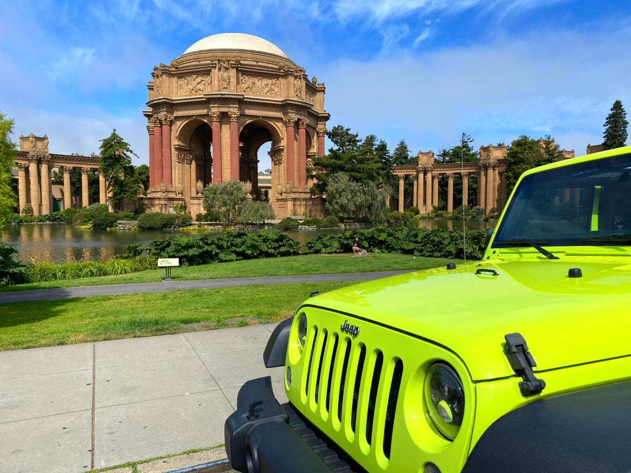 Full Day City Tour Plus Muir Giant Redwoods and Sausalito - Private Tour by Convertible Jeep