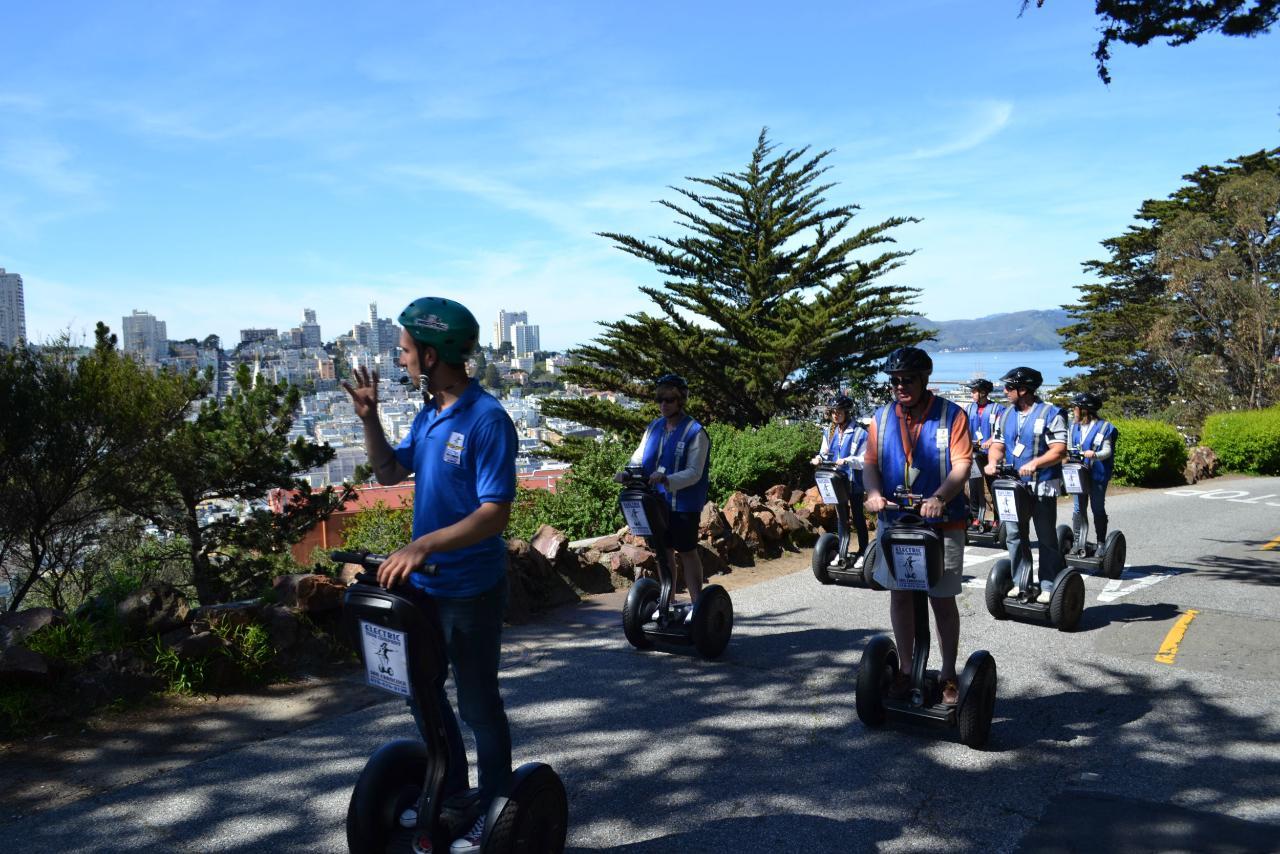 Alcatraz + Wharf & Waterfront Segway Combo Tour