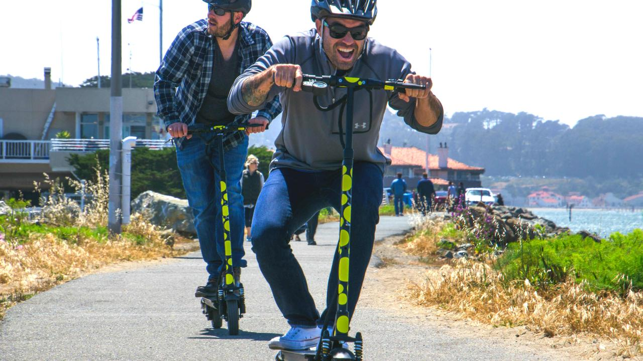 Private Electric Scooter Tour: Golden Gate Park:  3 hours