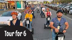 ON SALE Gift Certificate:  6 Guests Private Segway Tour: Wharf & Hills of San Francisco or Golden Gate Park