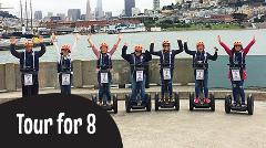 Gift Certificate:  8 Guests Private Segway Tour: Wharf & Hills of San Francisco or Golden Gate Park