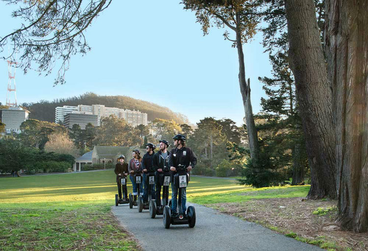 Advanced Park to Ocean Segway Tour