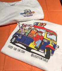Lucky Tuk Tuk T -Shirt