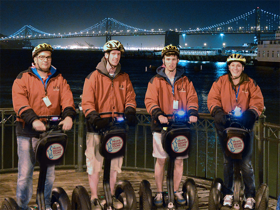Gift Certificate: Private Segway Tour: Chinatown by Night