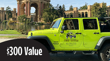 $300.00 Value Gift Certificate Private Jeep Tours