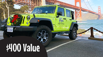 $400.00 Value Gift Certificate Private Jeep Tours