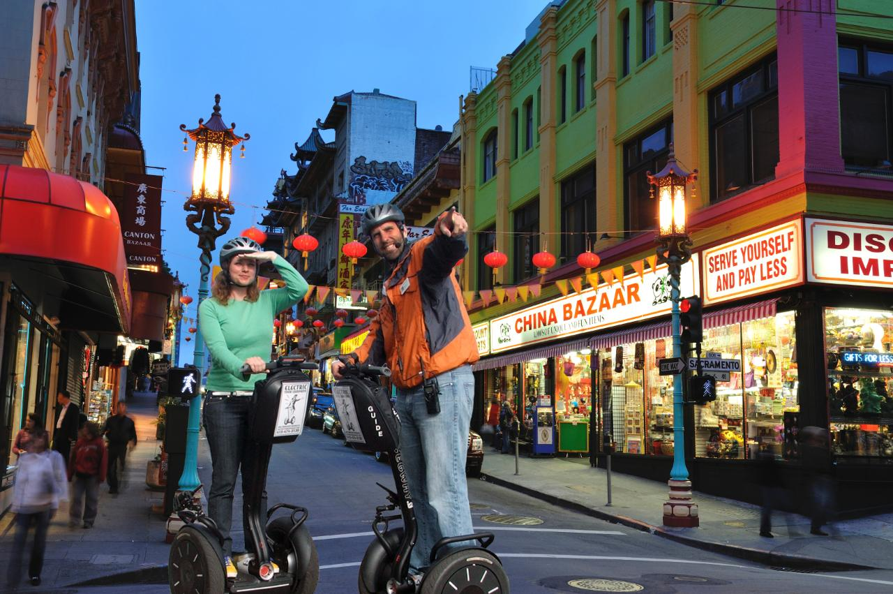 Night Segway Tour of Chinatown, North Beach & Waterfront