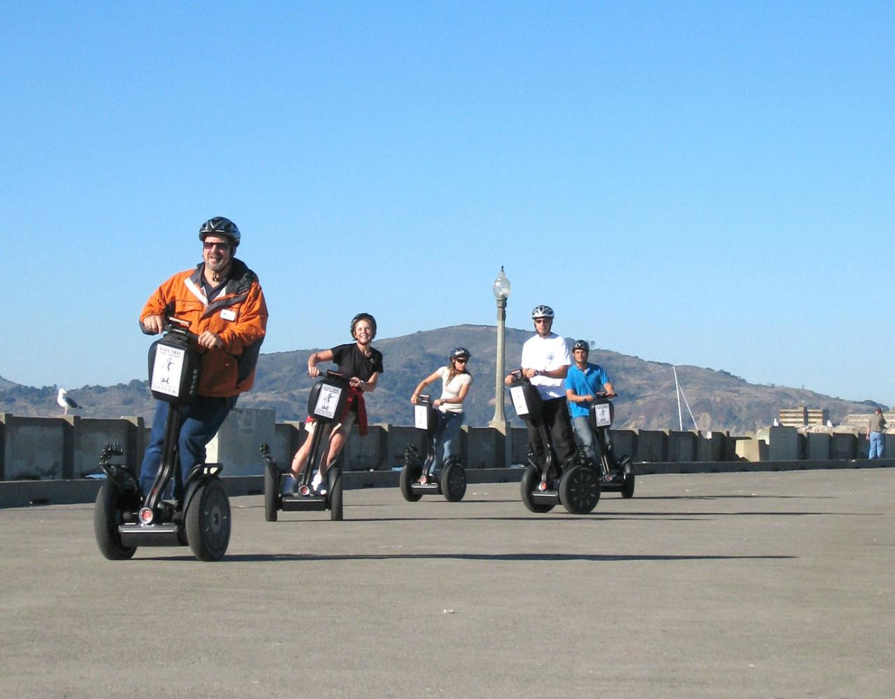 Early Bird Segway Tour Deal - Save on Wharf, Waterfront & North Beach Segway Tour 10:30am
