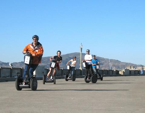 Wharf, Waterfront and Little Italy Segway Tour