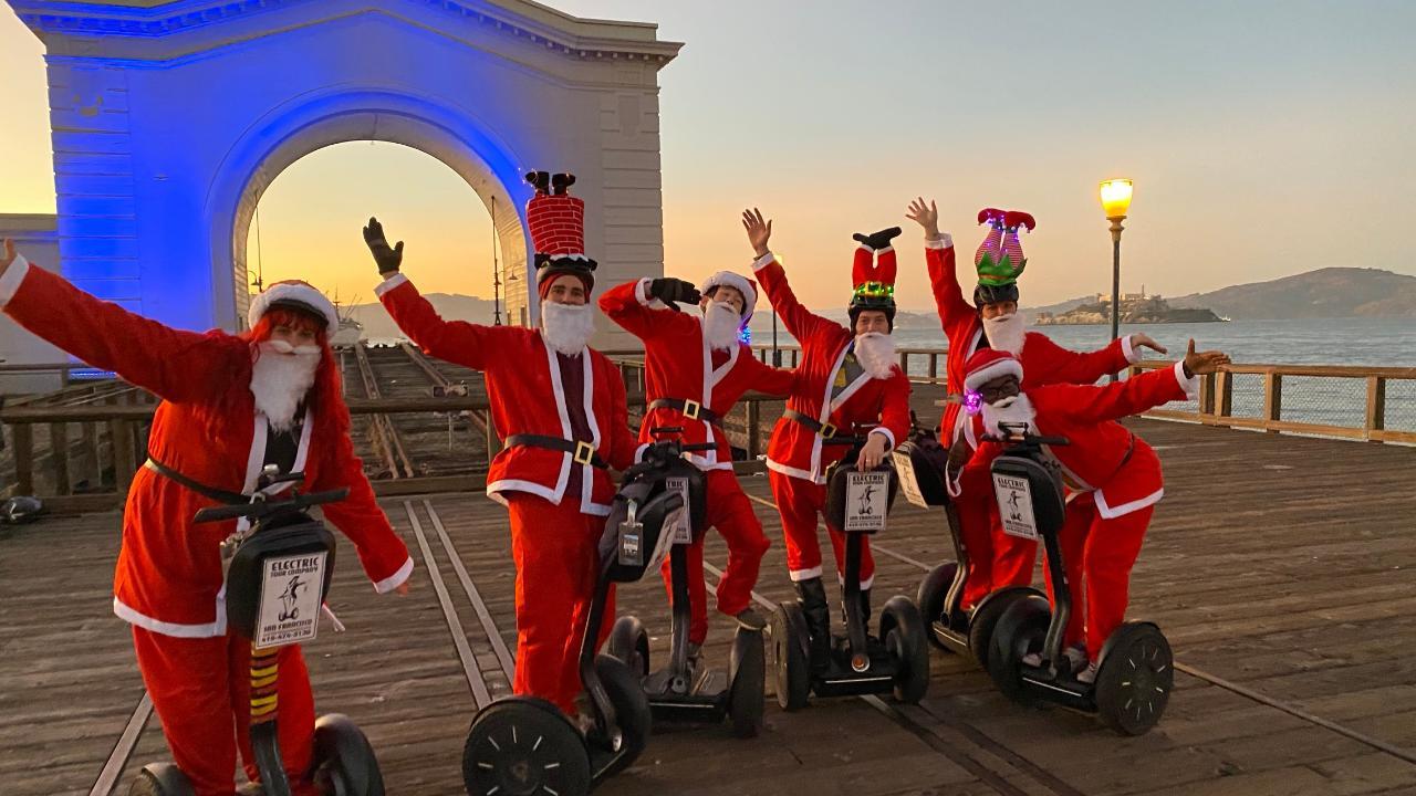 Santas on Segways - Holiday Segway Tour in San Francisco