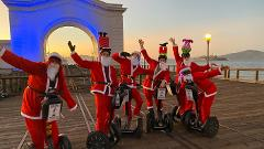 Santas on Segways - Holiday Segway Tour in San Francisco