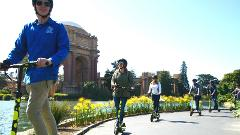 1.5 Hour Electric Scooter Adventure & Tour San Francisco