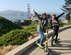 Ride to the Golden Gate Bridge: Electric Scooter Tour 2.5 Hours