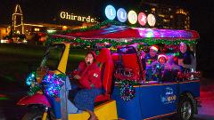 Holiday Lights and Sites Lucky Tuk Tuk San Francisco Tour