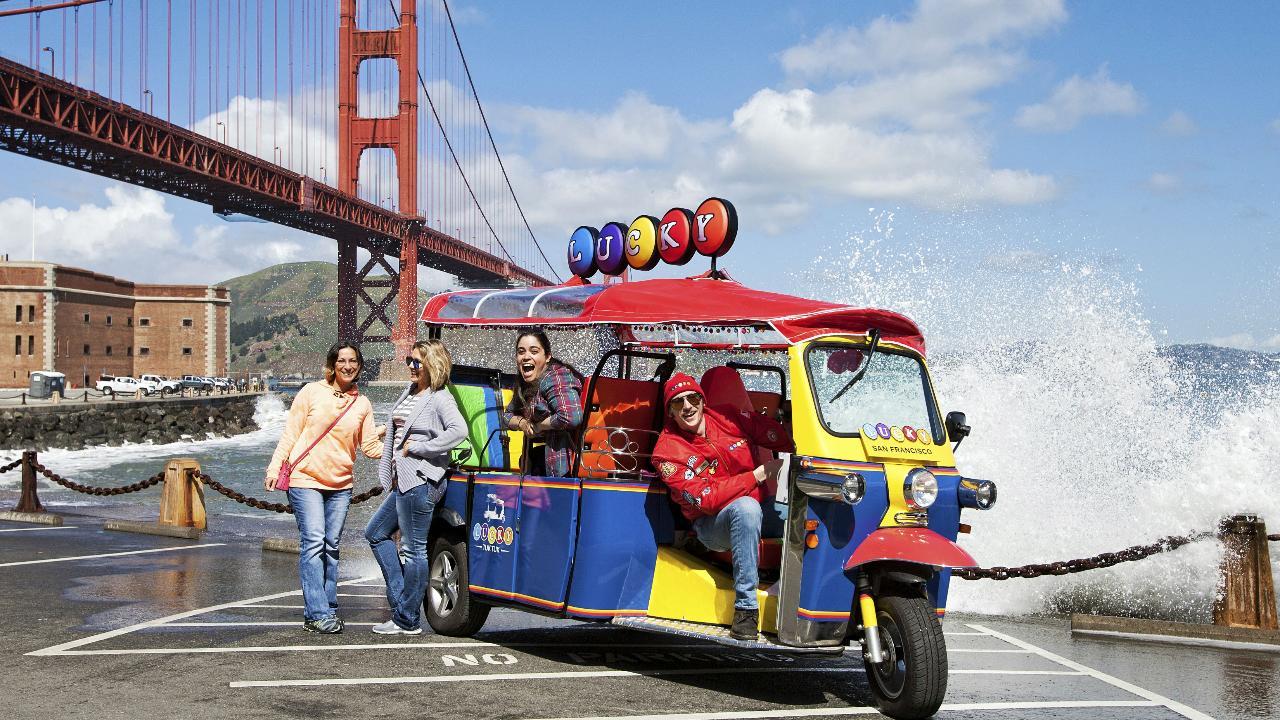 Lucky Tuk Tuk - Ultimate San Francisco City Tour