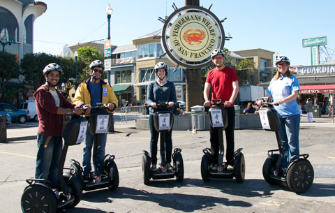 Waterfront Mini Segway Tour - 1.5 Hours