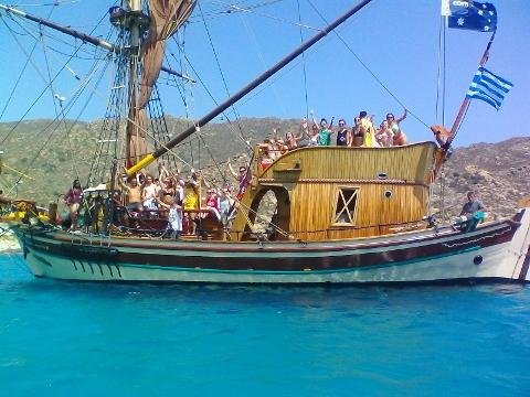 Pirate Boat Daily Fun Cruise