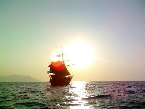 Pirate Boat Sunset Cruise
