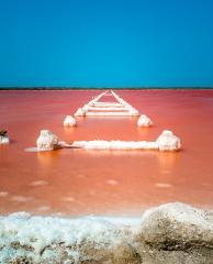Cartagena the Pink Sea of Galerazamba