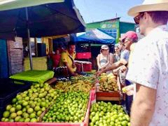 Cartagena, Bazurto Markets, Fruit tasting and Typical lunch