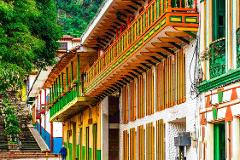 Jerico a Colorful Town Encircled with Plantations of Coffee