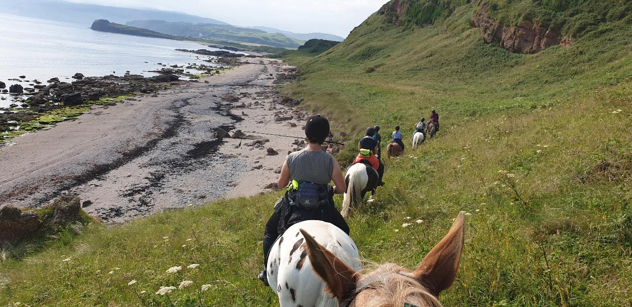 2021 - Kintyre - WEEK - Trail Riding