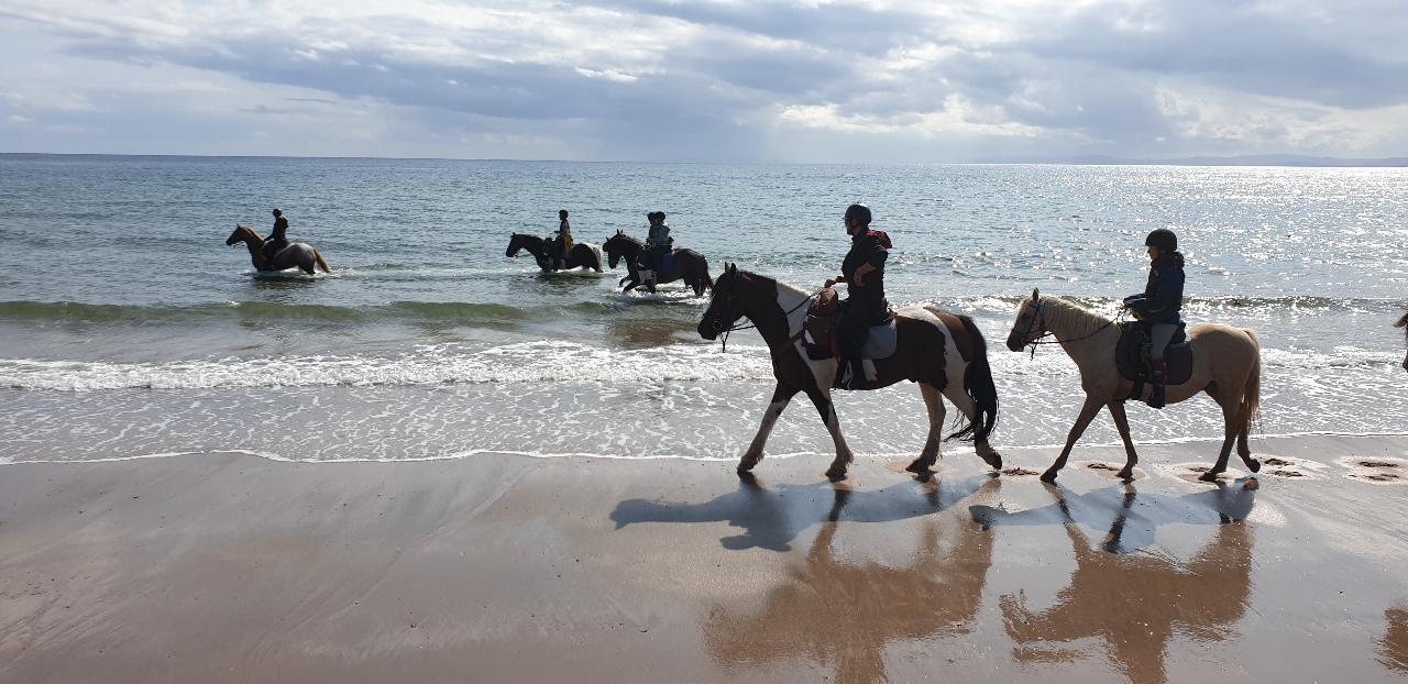 2022 - Kintyre - SHORT BREAK - Trail Riding
