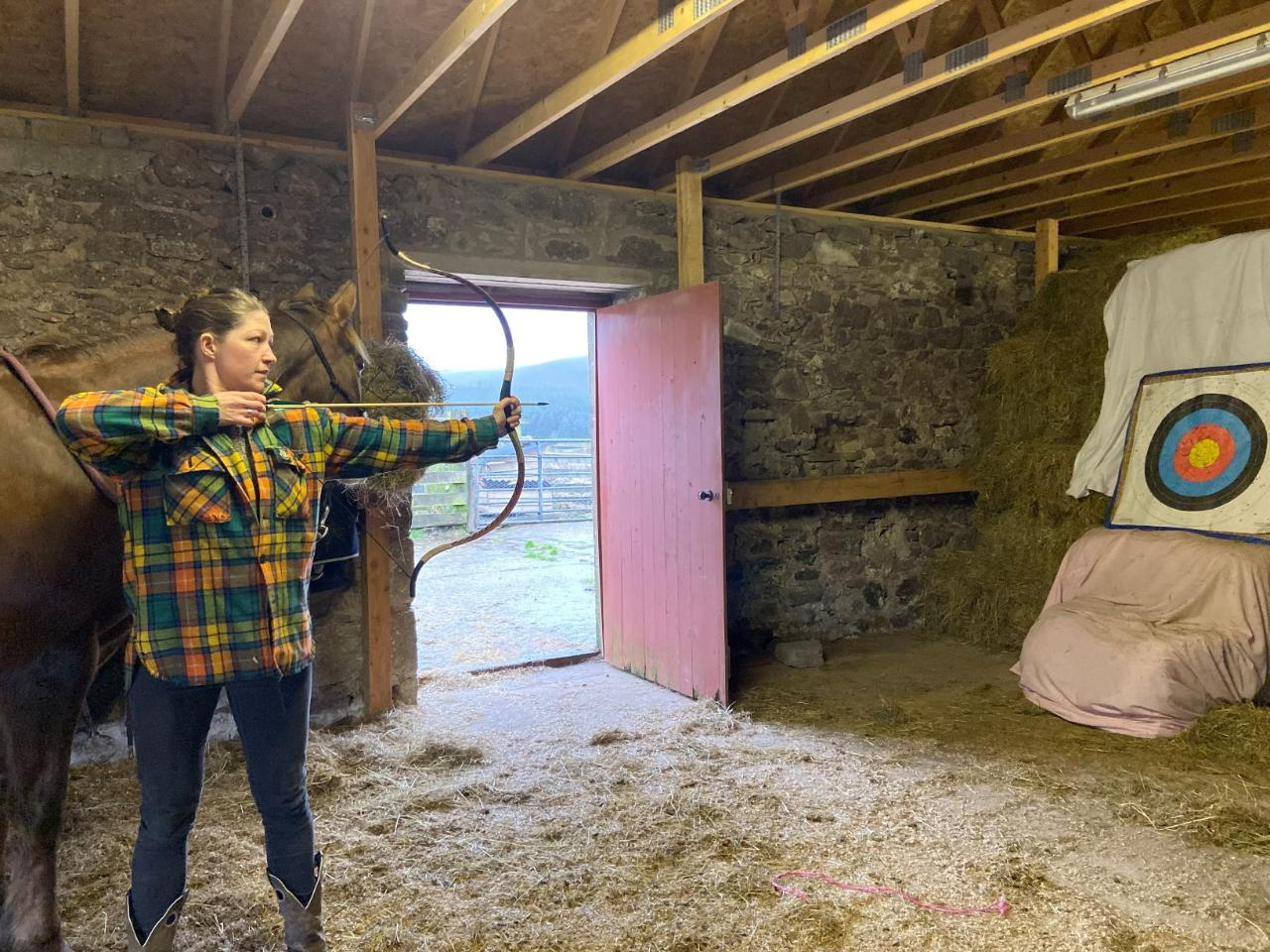 2021 - Kintyre - DAY - Horseback Archery