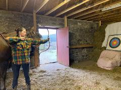 Kids Horseback Archery Taster