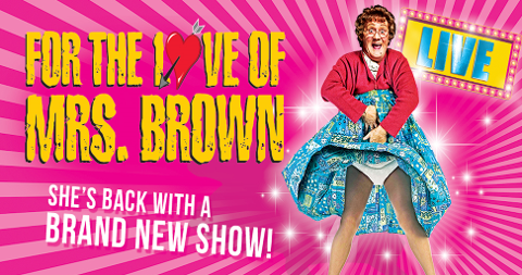 For The Love Of Mrs Brown - BOOKED OUT