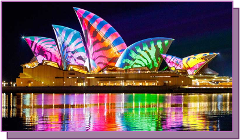 4 Day Sydney Vivid Lights Tour