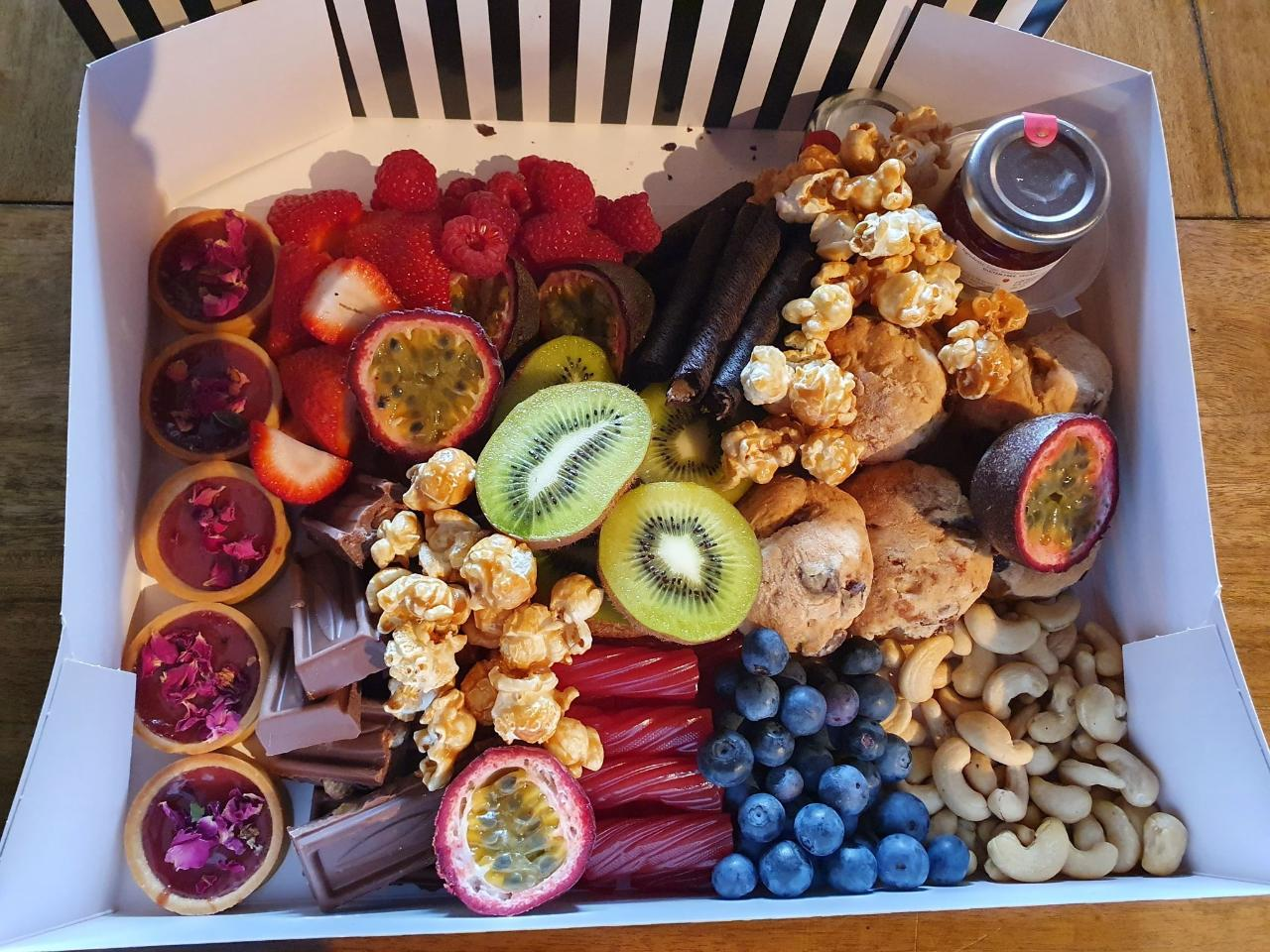 Grazing Box (Sweet, Savoury or Both), Delivered to Your Door