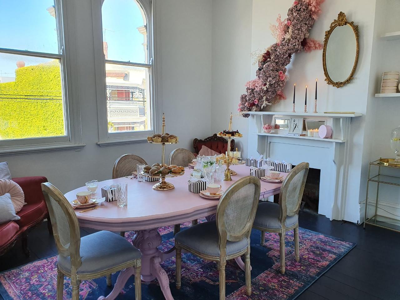 The Front Parlor In-Store High Tea Experience