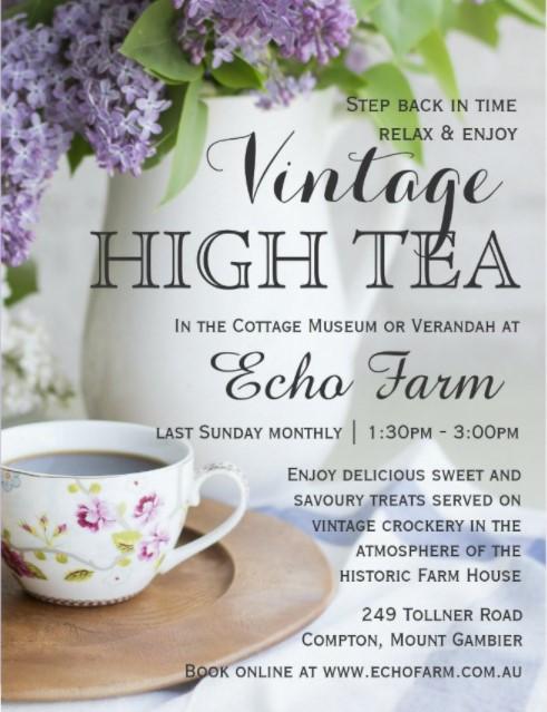 Vintage High Tea