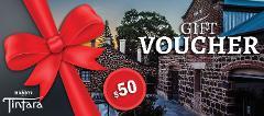 Hardys $50 Gift Voucher