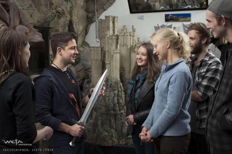 Wellington Movie Tour (including Weta Cave Workshop Tour option)