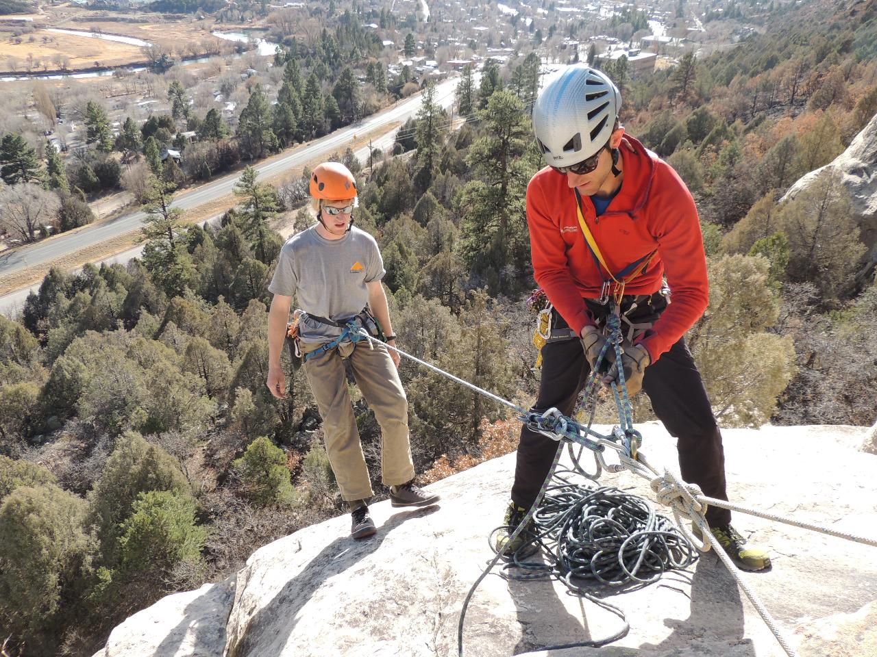 Single Pitch Instructor (SPI) Course - American Mountain Guides Association (AMGA) accredited