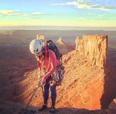 Moab Desert Tower Climbing