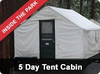 Yosemite Five Day Tour from San Francisco - Tent Cabin