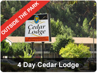 Yosemite Four Day Tour from San Francisco - Cedar Lodge
