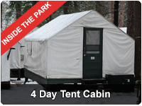 Yosemite Four Day Tour from San Francisco - Tent Cabin