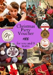 Christmas Chocoholic Group Tour (for 10 people) Voucher