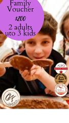 Family Chocoholic Tour (For 2 Adults and up to 3 Kids) Voucher