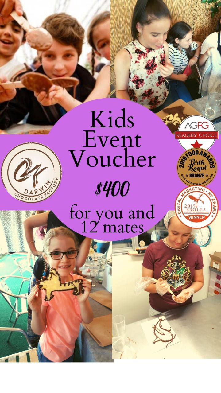 Kids Chocoholic Group Tour (for 13 people) Voucher