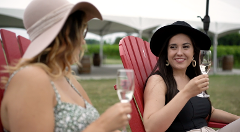 Bella Terra Muskoka Chair Reserve Wine Tasting