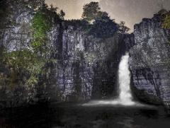 Late Night Milky Way Shoot - High Force Waterfall