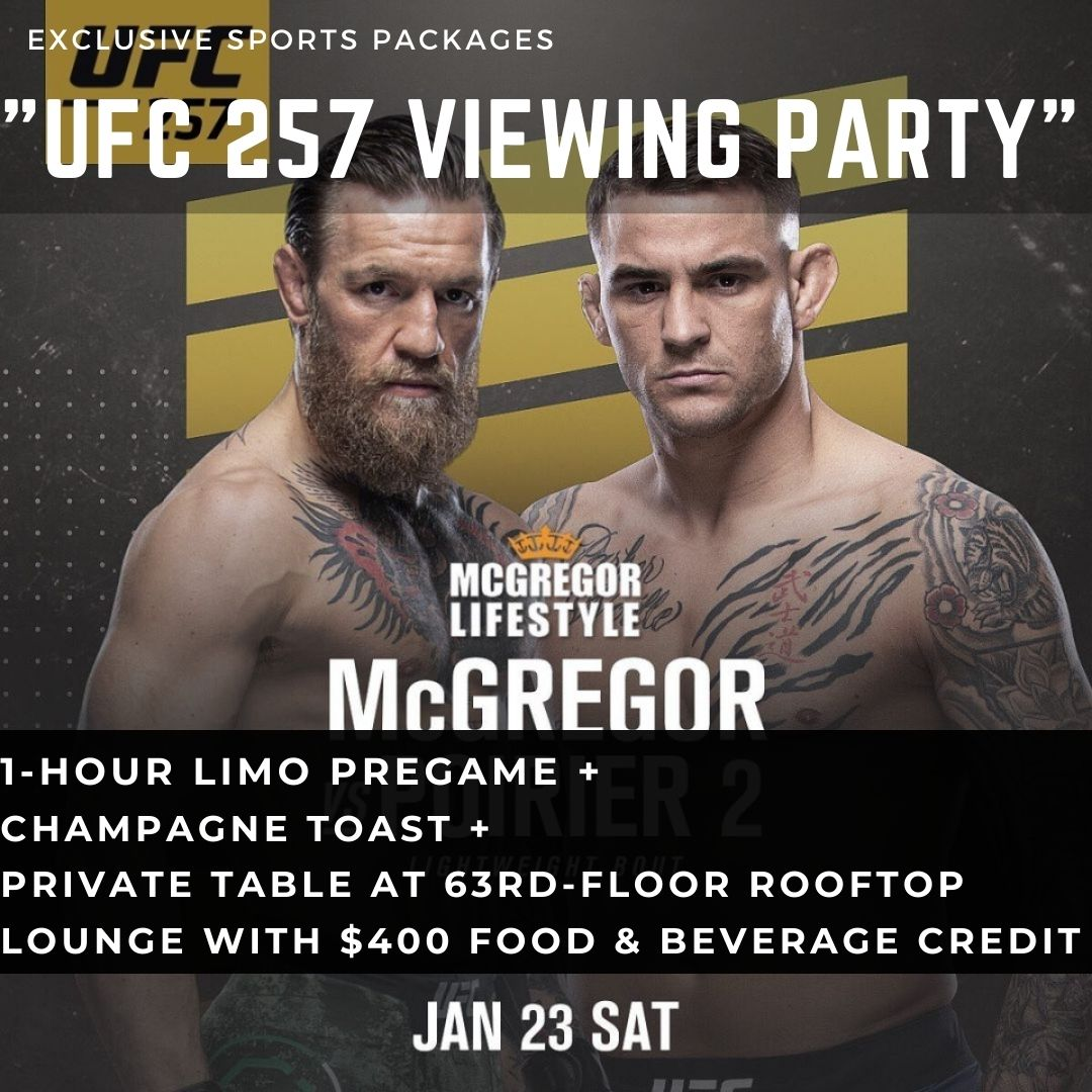 UFC 257 Viewing Party